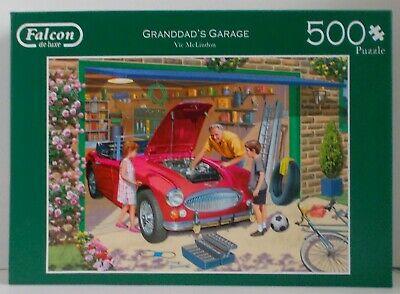 Falcon De Luxe 500 Piece - Jigsaw Puzzle - Granddad's Garage