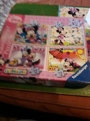 Jigsaw Ravensburger Disney Minnie Mouse Puzzles (Pack of 4)