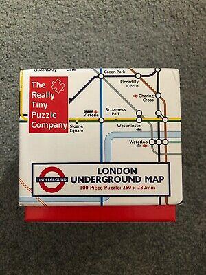 London Underground Cube 100 Piece Jigsaw Puzzle by Robert