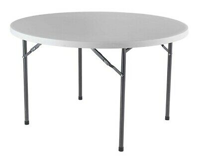 Office Hippo Round Occasional Table with Folding Legs,