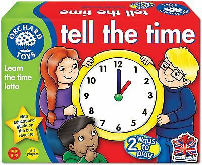 Orchard Toys TELL THE TIME Kids/Childrens Digital And