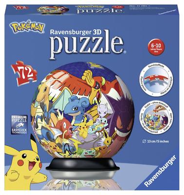 Ravensburger 3D Puzzle Pokemon – 72 Pieces,