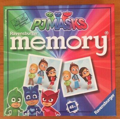 Ravensburger PJ Masks Mini Memory Card Game Pairs Snap