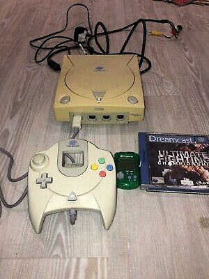 Sega Dreamcast Video Game Console, Controller, Visual Memory