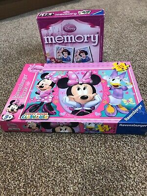 Disney Jigsaw Puzzle And Memory Game