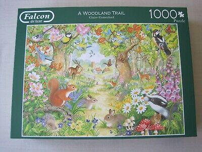 Falcon de Luxe  piece jigsaw 'A Woodland Trail'