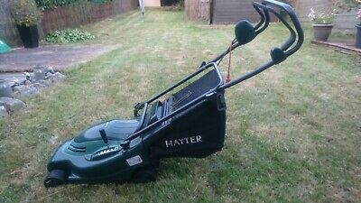 Hayter Envoy 36 electric Push Mower in perfect working order