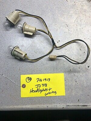 John Deere  Tractor Head Light Wiring Harness