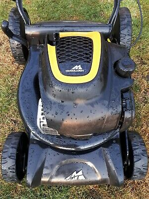 McCulloch MWR self propelled petrol mower vgc