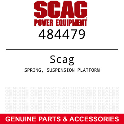 OEM Suspension Platform Spring Scag V-Ride SVR36A-600FX