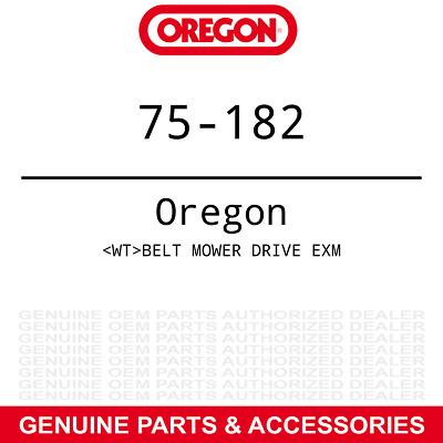 "Oregon Deck Drive Belt Exmark K-K-5 48"""
