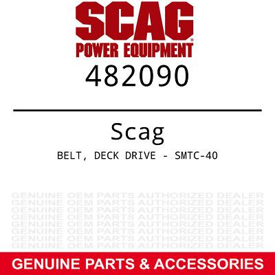 Scag Belt Deck Drive - Smtc-