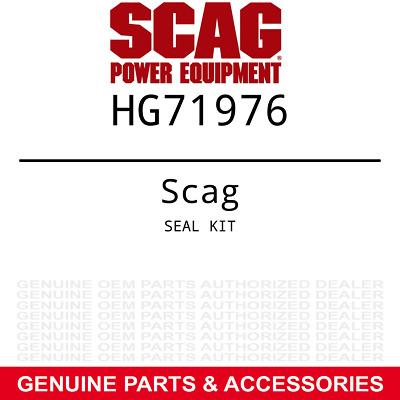 Scag Seal Kit Hg