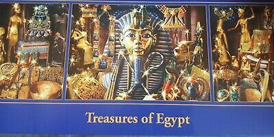 Treasures of Egypt 3 in 1 Jigsaw Puzzles - 3 X -piece
