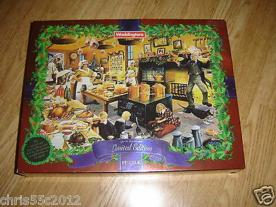 WADDINGTONS A FESTIVE FEAST  PIECE SUPER DE LUXE JIGSAW