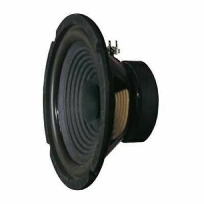 Black 204 mm 40 W Full Range Round Speaker (8 Ohm) - Altai