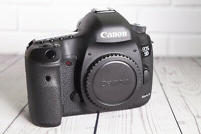 Canon EOS 5D Mark III 23.2MP Camera Body - very low shutter
