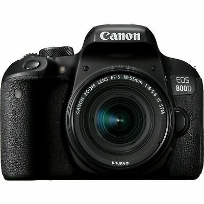 Canon EOS 800D DSLR Camera with EF-S mm Lens Kit -
