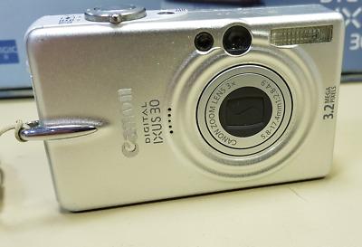 Canon IXUS MP Digital Camera - Silver - USED