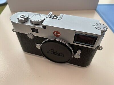 Leica M10 Digital Rangefinder Camera Body Silver #