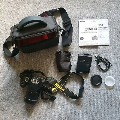 Nikon D DSLR Camera With mm Lens - Slightly used -