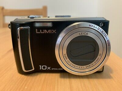 Panasonic LUMIX DMC-TZ4 8.1MP Digital Camera - Black + Case