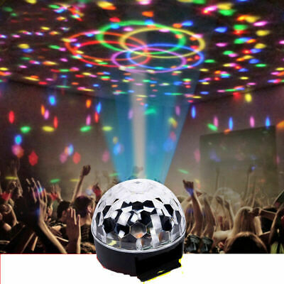 RGB Crystal Ball LED Disco DJ DMX512 Party KTV Club Show