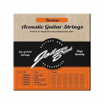 Set of 12 High Quality Bronze Acoustic Guitar Strings for 12