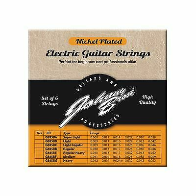 Set of 6 High Quality Nickel Plated Steel Electric Guitar