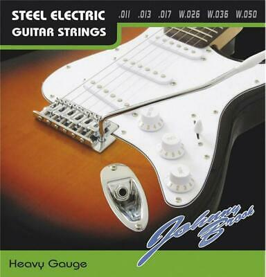 Set of 6 Johnny Brook Heavy Gauge Electric Guitar Strings