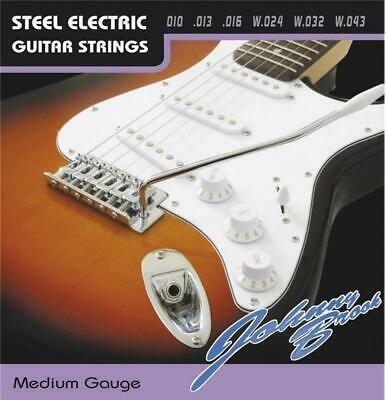 Set of 6 Medium Gauge Johnny Brook Electric Guitar Strings