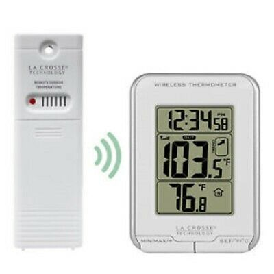 La Crosse Wireless Thermometer Indoor Outdoor LCD Trend