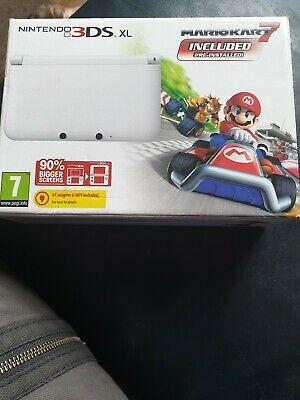 Nintendo 3DS XL Console Mario Kart 7 edition - White