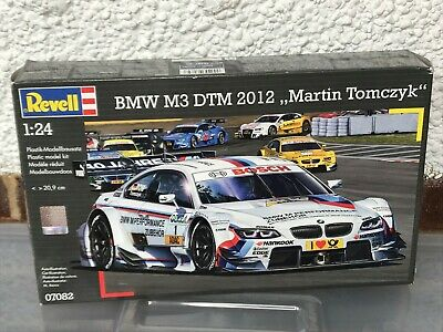 "Revell 1/24 BMW M3 DTM  ""Martin Tomczyk"" contents sealed"