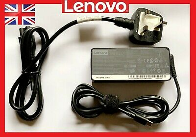 COMES WITH UK PLUG Lenovo Thinkpad Pro 65W USBC Mains Power