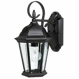 Capital Lighting BK Carriage House 1 Light Outdoor Wall