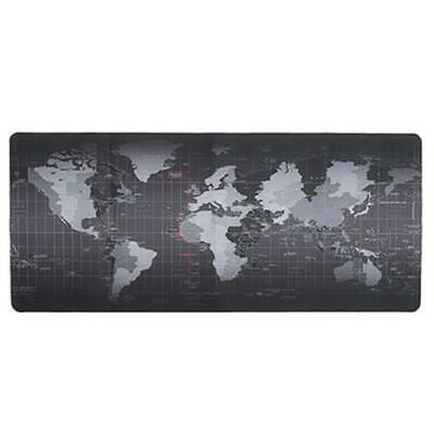 Large Size World Map Mouse Pad For Laptop Computer