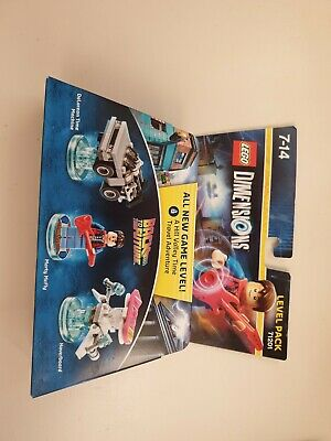 Lego Dimensions Level Pack Back To The Future.