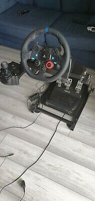 Logitech 222B411 G29 Racing Wheel and Pedals for PS4/PS3 and