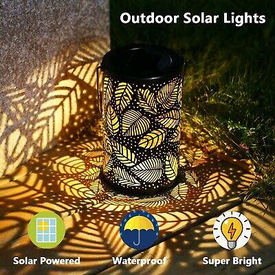 Solar Lantern Light Powered Hanging Outdoor Garden LED
