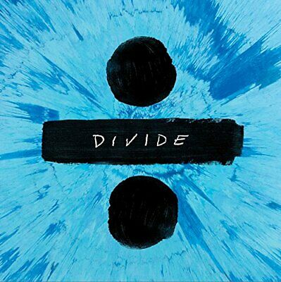 ED Sheeran Divide ÷ Deluxe CD. New and sealed. Free post.