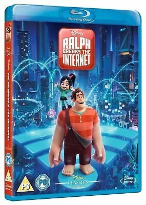 Ralph Breaks The Internet (Disney) [Blu-ray] New Sealed