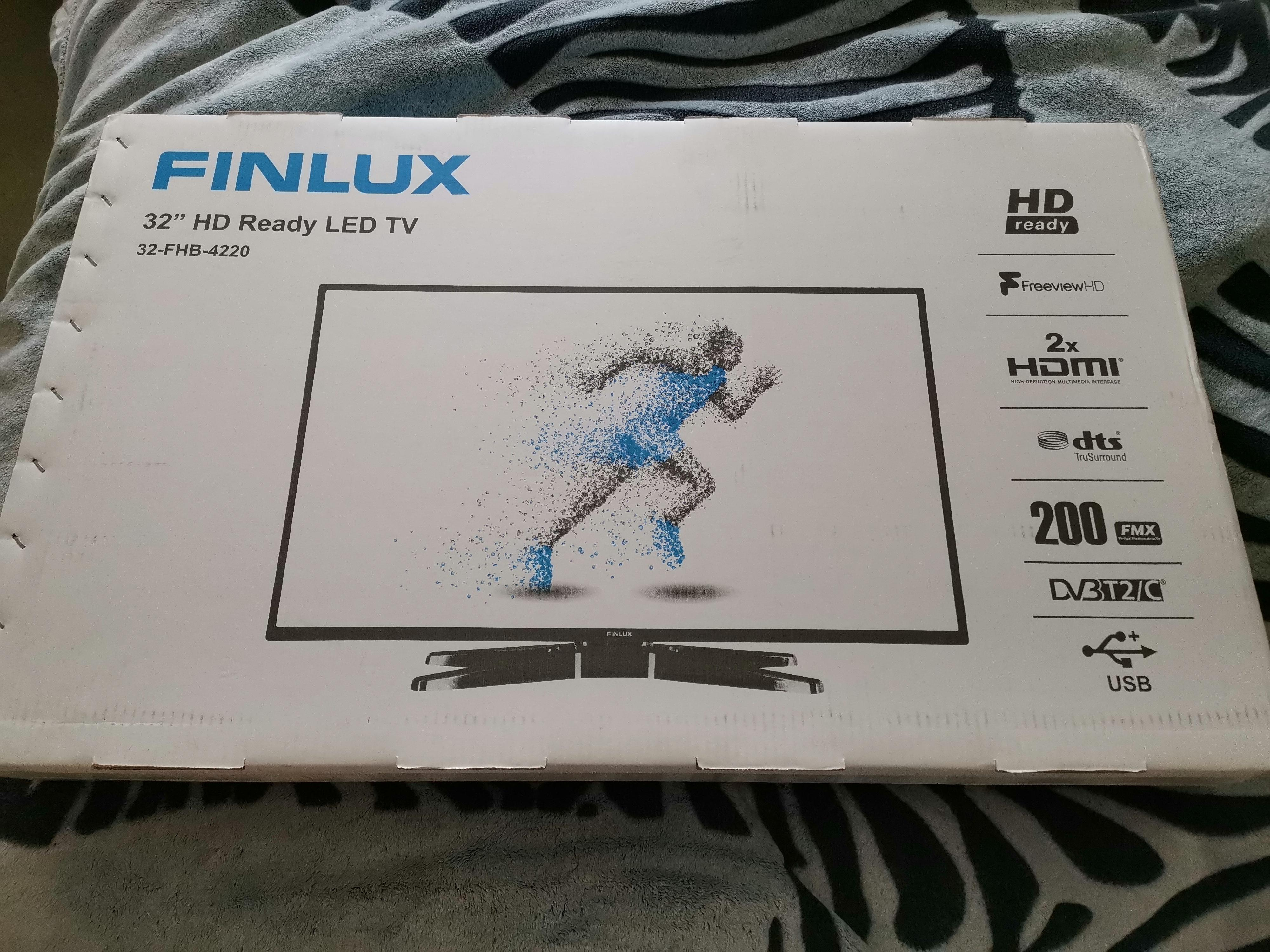 "Brand new 32"" TV still in the box"