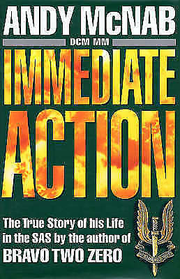 Immediate Action by Andy McNab (Hardback, )