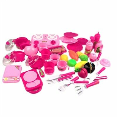 40pcs/set Kitchen Food Cooking Role Play Pretend Toy Girls