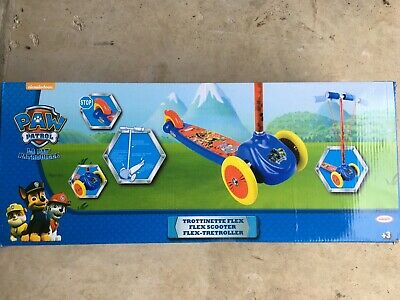 Adjustable Paw Patrol My First Tri Scooter Kids 3 Wheeled