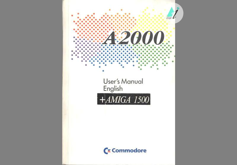 Commodore Amiga A User's Guide - Good condition