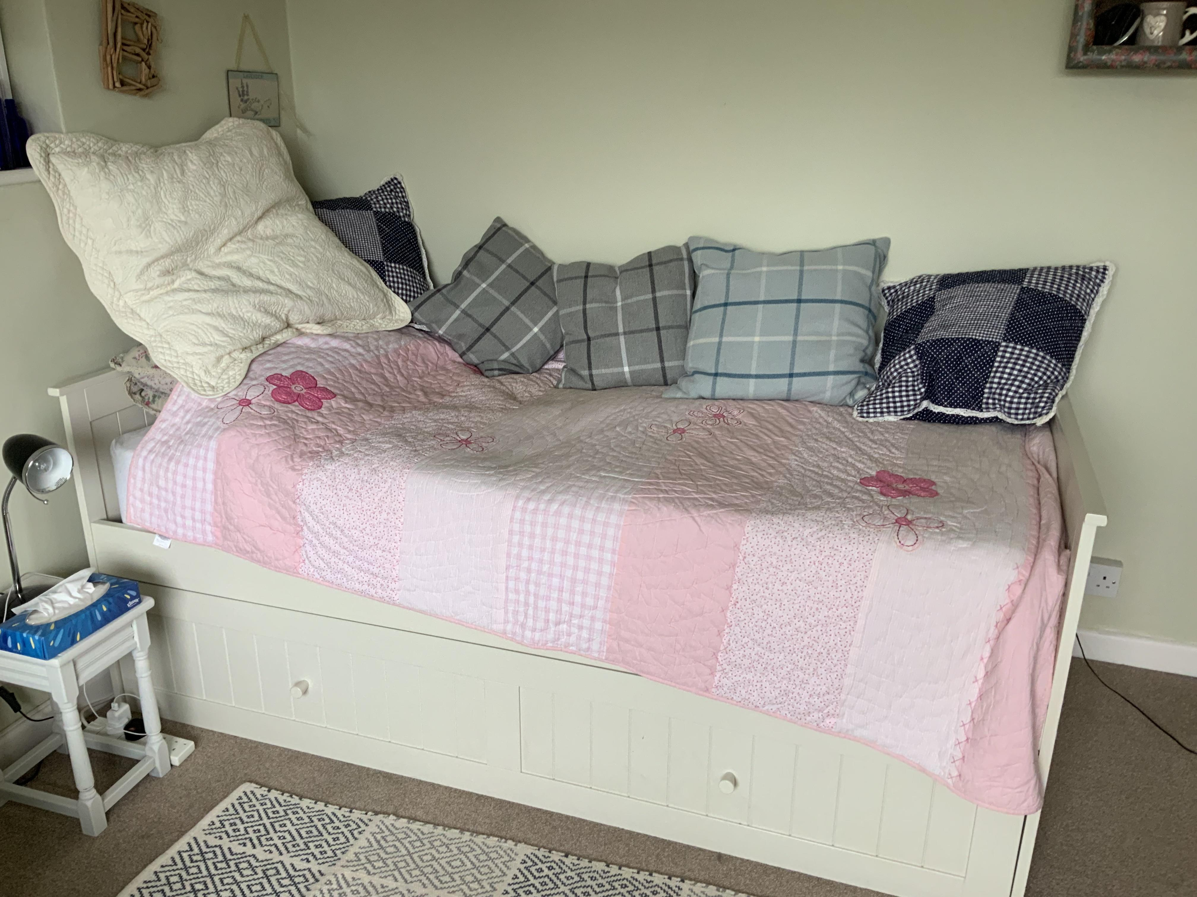 Day bed and two new John Lewis mattresses