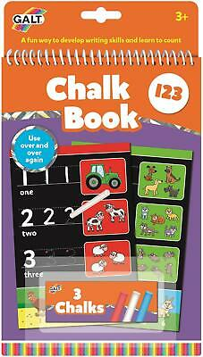 Galt CHALK BOOK 123 Kids Activity Toy BNIP
