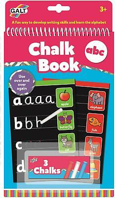 Galt CHALK BOOK ABC Kids Activity Toy BNIP